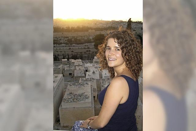 Zur Hospizarbeit nach Jerusalem