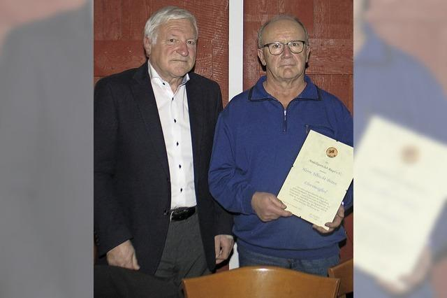 Albrecht Braun ist Ehrenmitglied