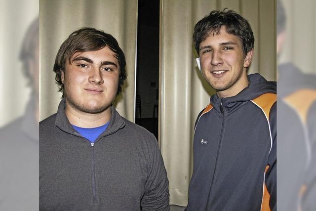Zwei Neue im Vorstand des Sportvereins