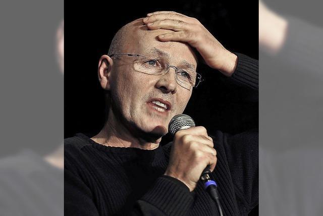 Gerd Normann spielt im Ali-Theater Waldshut-Tiengen