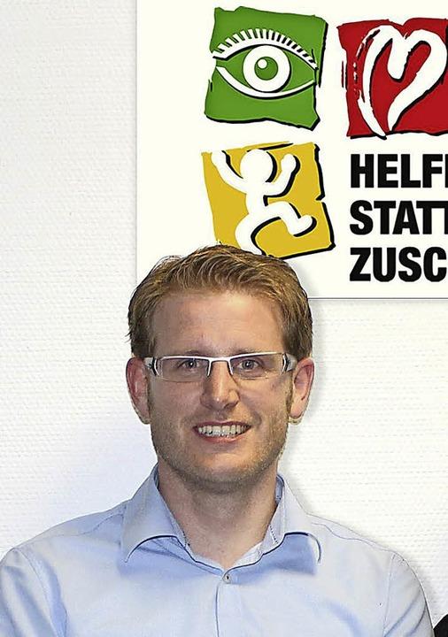 Sebastian Schäfer möchte mit Hilfe einer Stiftung  den Schwächsten helfen.   | Foto: Gerda Oswald