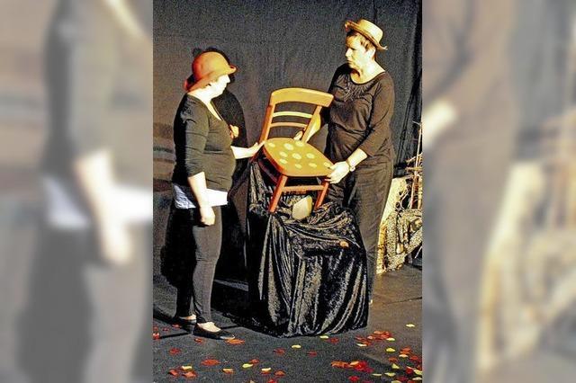 Ausstellung rund um das Thema Stuhl