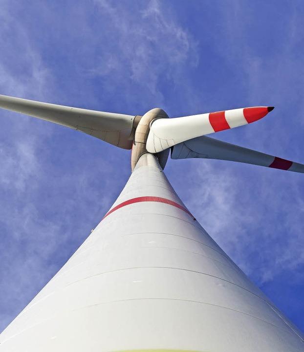 <ppp> und  die </ppp>Windkraft.   | Foto: dpa/Huber