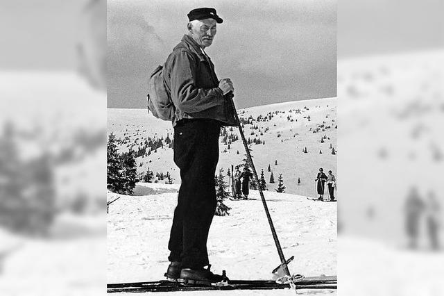 Pionier des Skilaufs