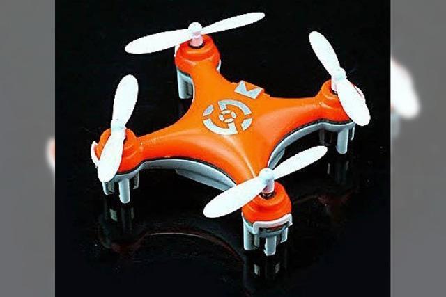 Quadrokopter Cheerson CX-10: Der fliegende Mini