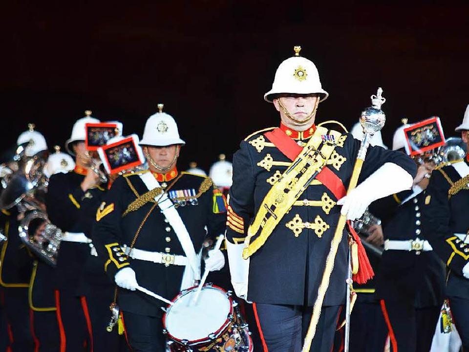 Ein Wiedersehen  gibt es mit der Band der königlich-englischen Marine.   | Foto: Daniel Gramespacher