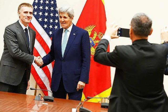 Umstritten: Montenegro will in die Nato