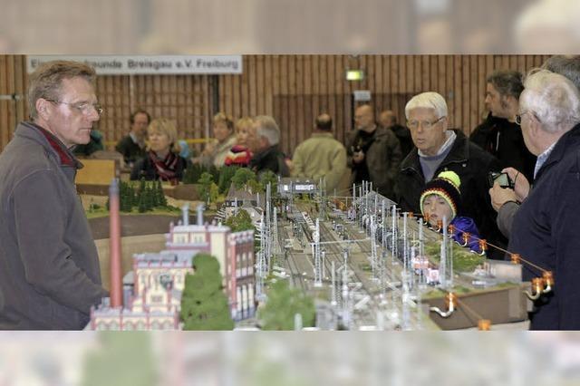 1000 Besucher fasziniert von Modellbau-Ausstellung