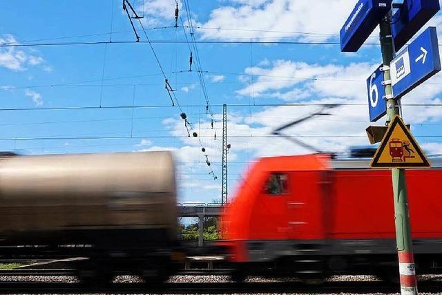 Gleiche Standards für alle? Vorstoß gefährdet Rheintalbahn