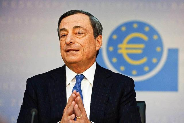 Draghi kämpft für mehr Inflation und mehr Kredite