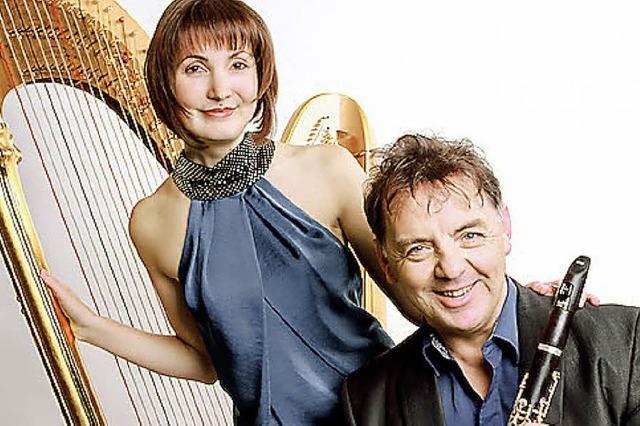 Simone Seiler und John Corbett in Badenweiler