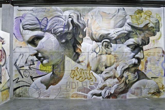 Problematische Zeit im Spiegel von Urban Art