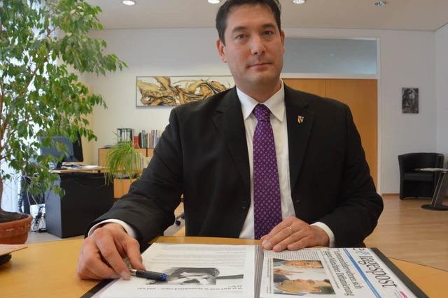 Denzlinger Bürgermeister fordert Schadenersatz von Süddeutscher Zeitung