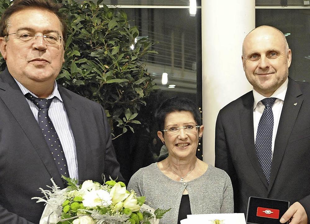 Gleich von zwei Bürgermeistern bekam C...ins für jüdische Geschichte und Kultur  | Foto: Markus Zimmermann