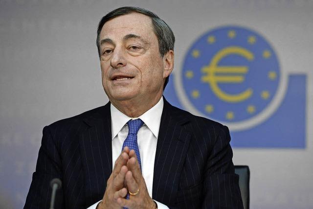 Draghi bleibt der Sparerschreck