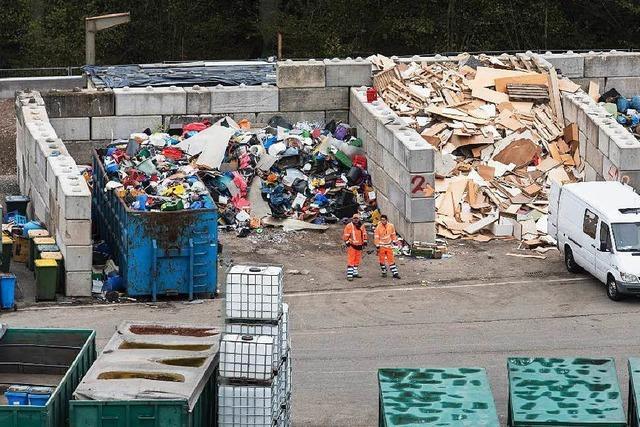 Müllgebühren steigen in Freiburg um fünf Prozent
