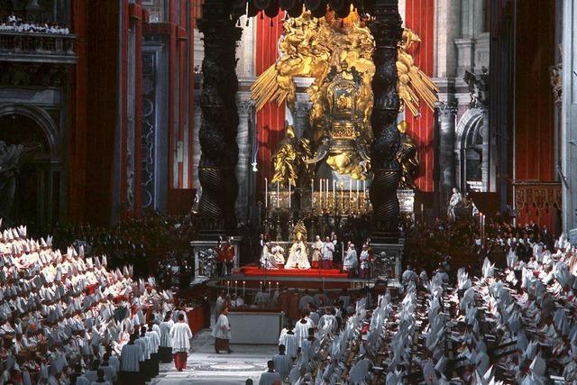 Nach dem Zweiten Vatikananischen Konzil hat sich einges verändert