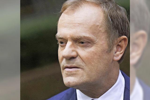 Tusk geht auf Konfrontationskurs zu Merkel