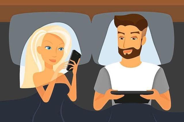 Viele verzichten lieber auf Sex als auf Internet
