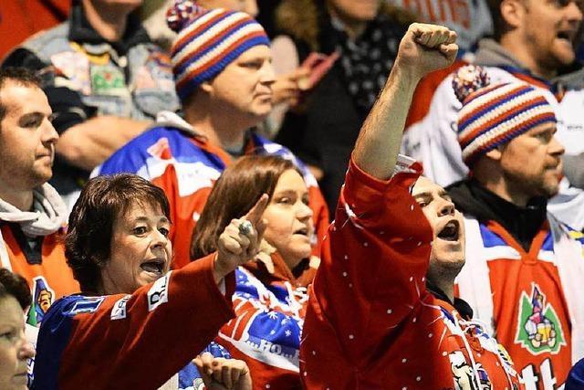 Zuschauerboom: Niederlagen schmälern nicht die Fan-Popularität des EHC Freiburg