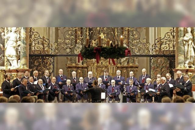 Männergesangverein St. Peter in der Pfarrkirche St. Peter
