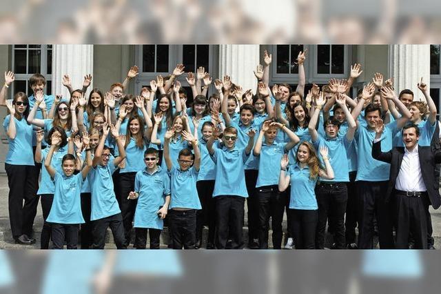 Mit der Jugendkapelle und der Stadtmusik Neustadt zum Tema