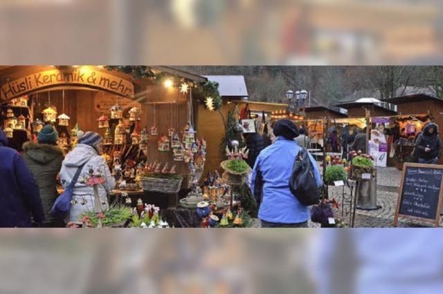 Weihnachtsmarkt auf dem Domplatz