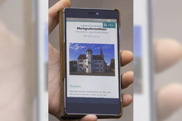 Emmendinger programmiert Smartphone-Stadtrundgänge