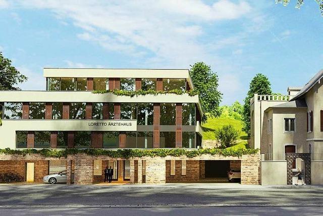 Lob für Verbesserungen am geplanten Ärztehaus neben der Reinhold-Schneider-Villa