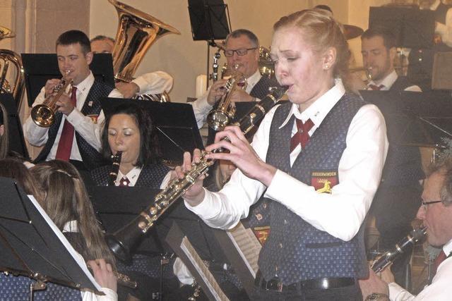 Stimmungsvolles Jahreskonzert des Musikvereins Niederwinden