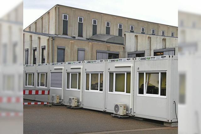 Bürocontainer für die SMP
