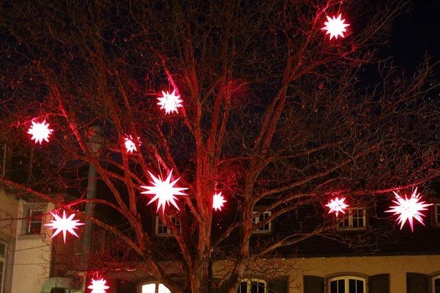 Mit roten Sternen durch den Advent