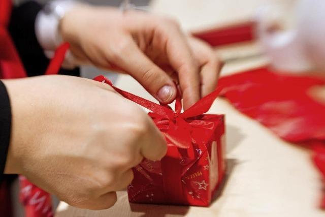 Geld für Weihnachtsgeschenke sitzt locker