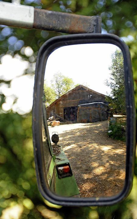 Nicht zurück schauen will Hägelbergs O... seinem Hof im Nachhinein genehmigt.    | Foto: Robert Bergmann