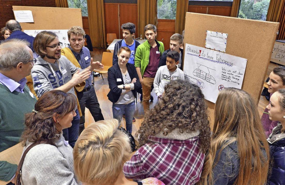 Diskussionen um Ticketpreise im Haus der Jugend   | Foto: Michael Bamberger