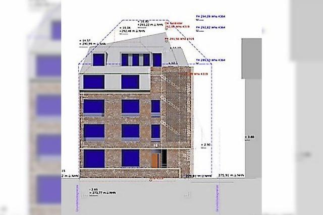 Gestaltungsbeirat und Stadtverwaltung ärgern sich über Plan für ein Haus an der Erwinstraße
