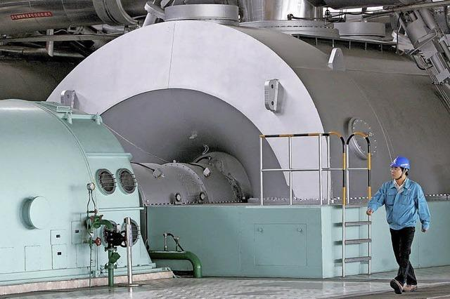 Peking plant Hunderte Atomkraftwerke