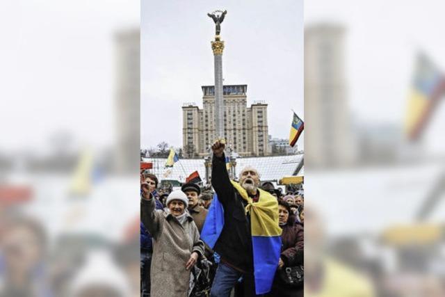 Die Ukraine findet keine Ruhe