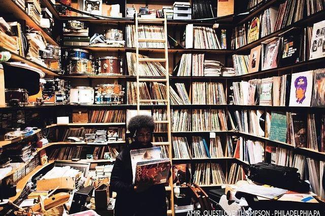Eilon Paz hat Schallplattensammler fotografiert