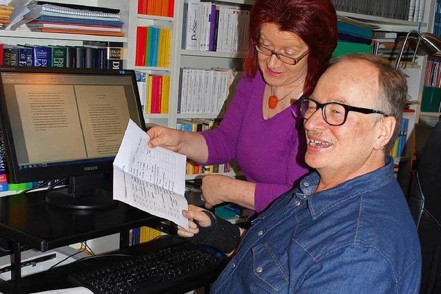 Martin Ruf und seine Frau übersetzen die Clifton-Saga