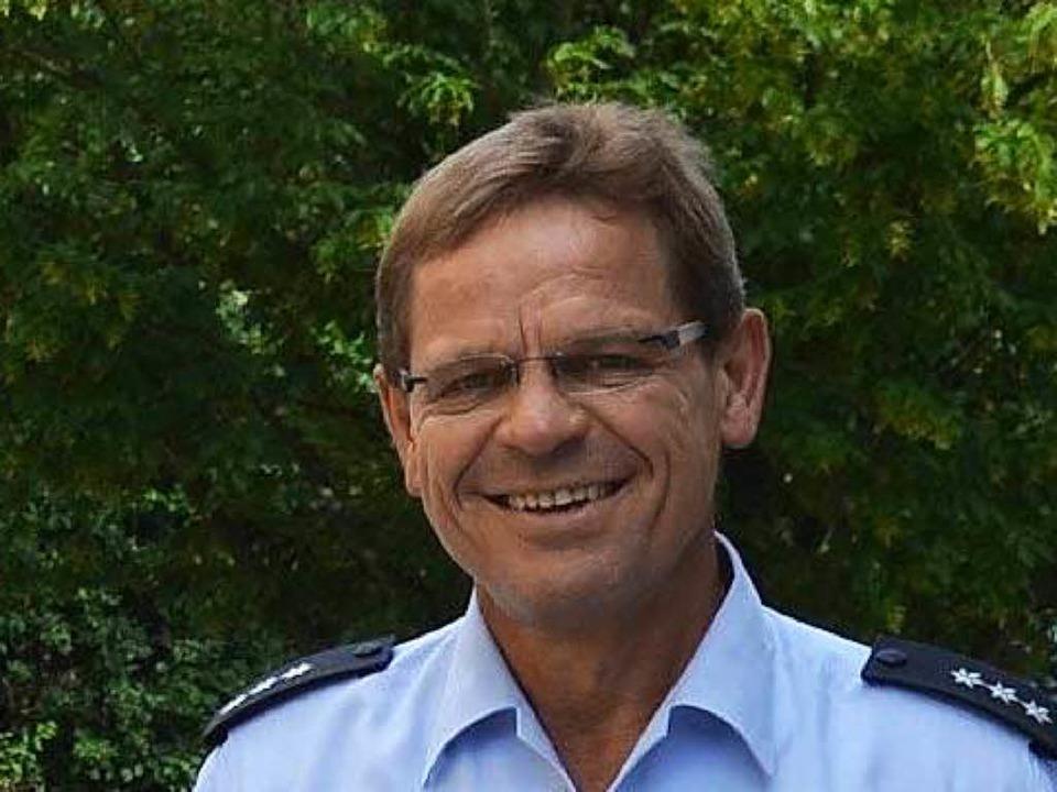 Martin Seywald, Sachbearbeiter für Jugenddelinquenz der Polizei Müllheim  | Foto: Babeck-Reinsch