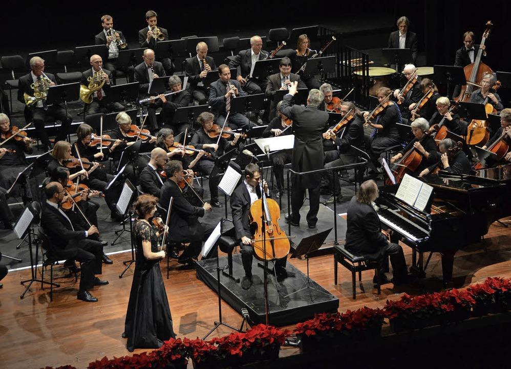Das Oberrheinische Sinfonieorchester Lörrach   | Foto: Sabine Ehrentreich