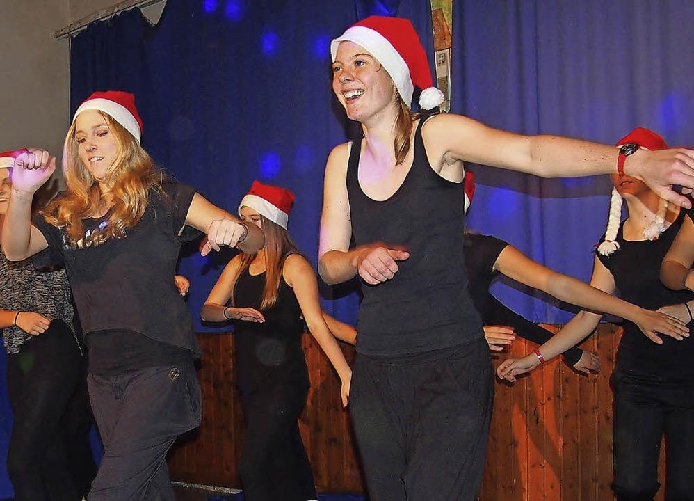 Einen mitreißenden Auftritt hatte die ...i der Nikolausfeier des TV Hägelberg.   | Foto: gabriele poppen