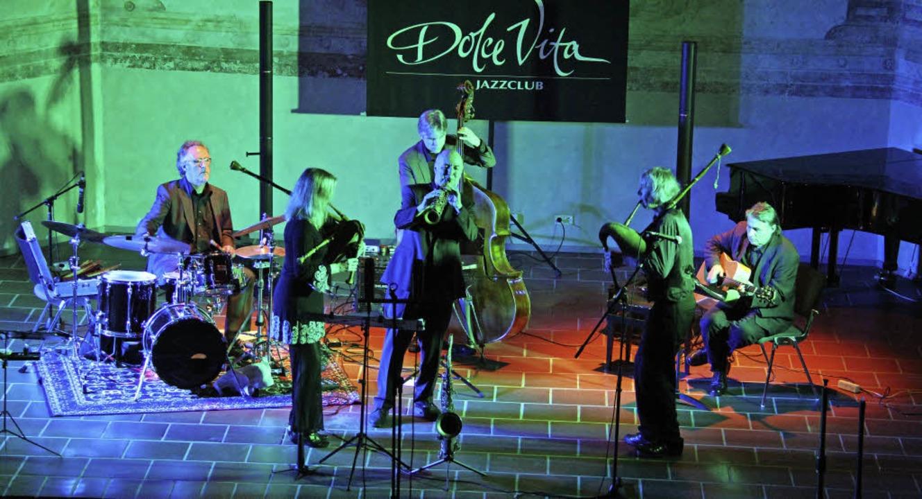 Mittelalter und Jazz, Alt und Neu &#82...den Musikern von Ars Supernova schon.     Foto: A. Huber