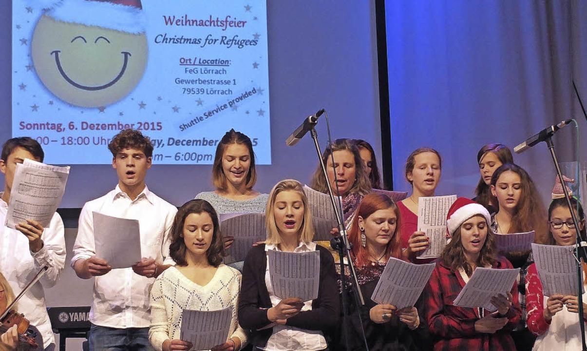Der Sizilienchor der Waldorfschule Lörrach   | Foto: Martina David-Wenk