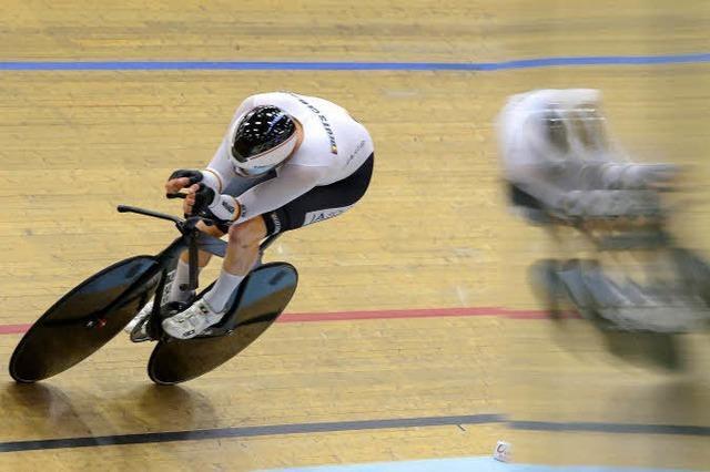 Bahnrad-Fahrer Domenic Weinstein hat Olympia-Medaille im Visier