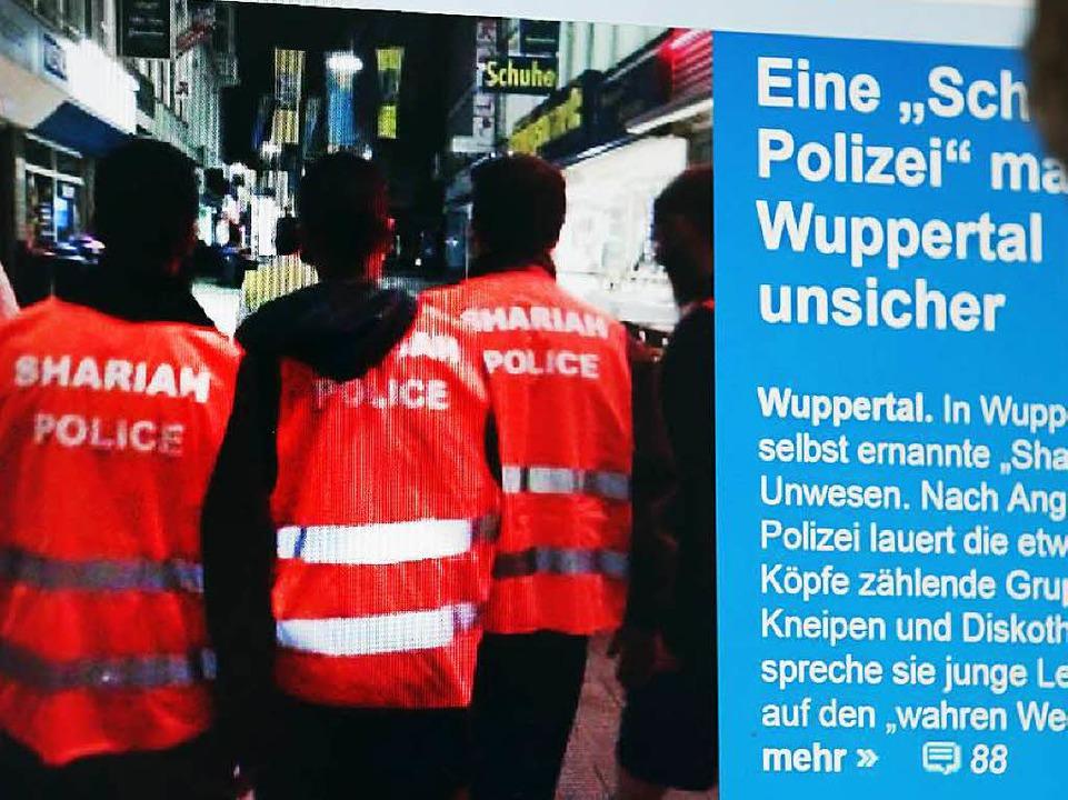 Möchtegern-Polizisten  in Wuppertal  | Foto: dpa