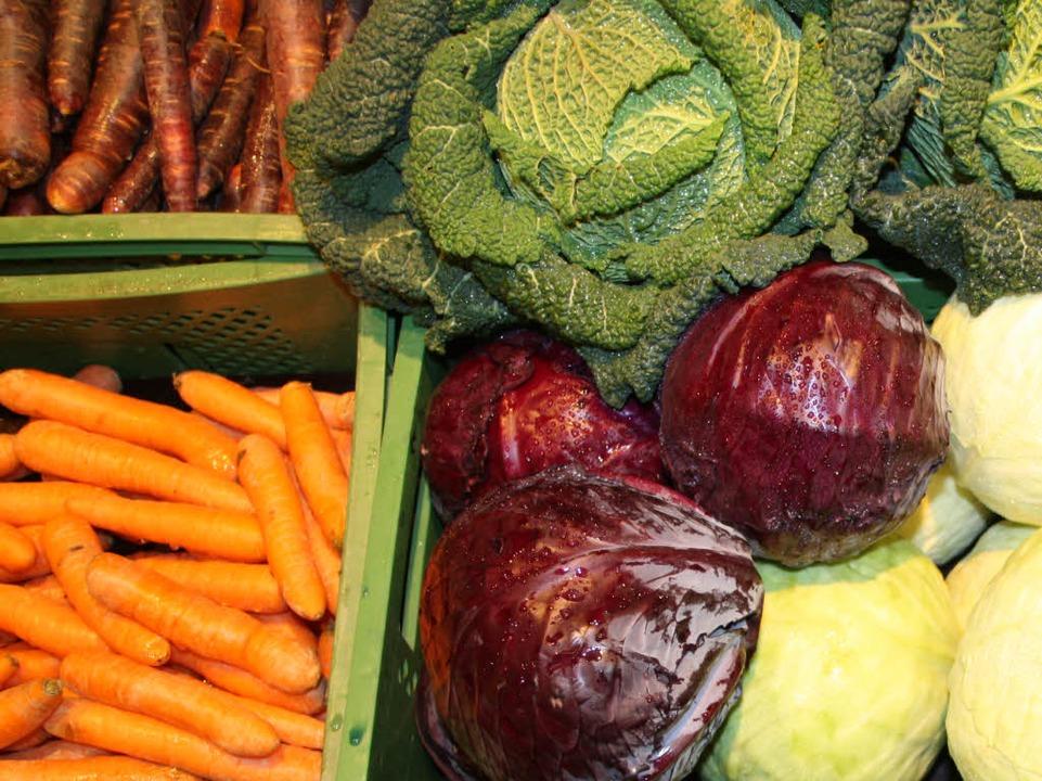 Lebensmittel aus ökologischem Anbau si...ing und Großküchen immer mehr gefragt.  | Foto: Silvia Faller