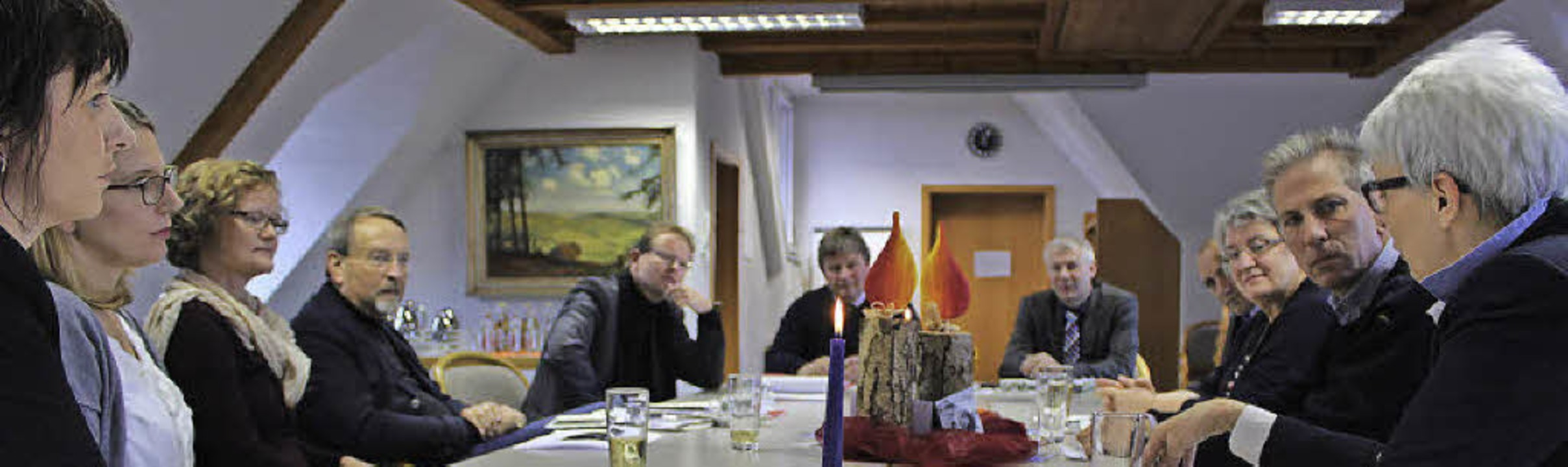 Diskussion um Umweltzone in St. Märgen  | Foto: Joachim Frommherz
