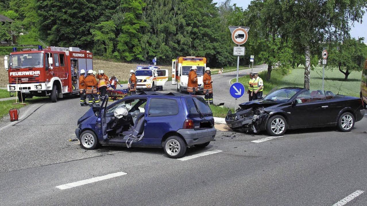 Schon eine kleine Unaufmerksamkeit kann zu einem schweren Unfall führen.   | Foto: Archiv: Polizei